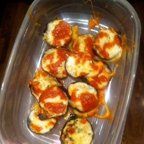 Italian Eggplant Bites