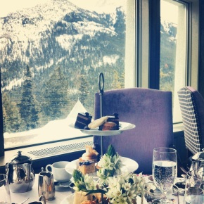 Afternoon Tea at The Fairmont Banff Springs
